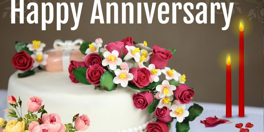 Wedding Anniversary Wishes Cake Images