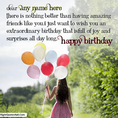 how to wish happy birthday to a girl you like