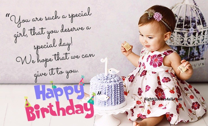 CUTE BIRTHDAY WISHES FOR GIRLS