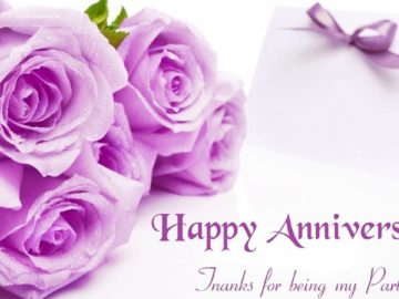 Cute Happy Wedding Anniversary