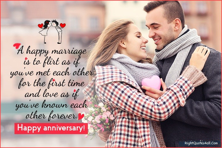 Marriage Anniversary Quotes Message