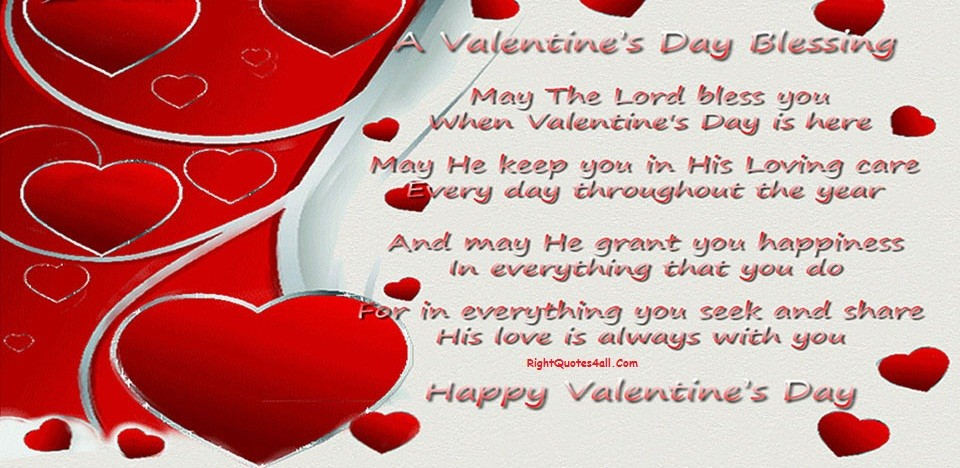 VALENTINE'S DAY BLESSINGS