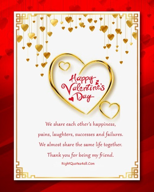Happy Valentines Day Quotes For Friends Images