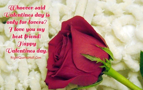 Loving Happy Valentines Day Friend Wishes