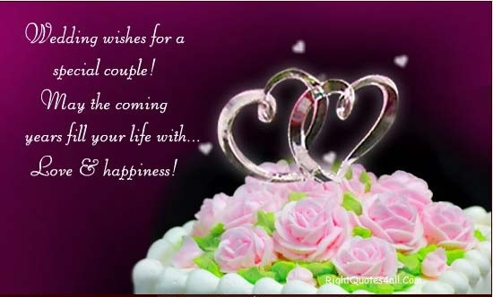 Sweet Wedding Wishes For Friend