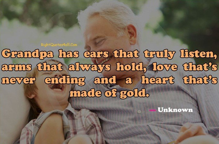 Fathers Day Quotes For Grandfather