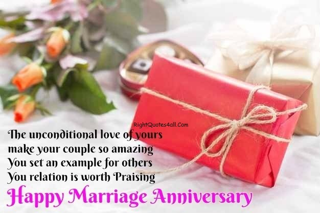 Marriage Anniversary Quotes To Sister