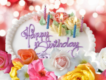 Cute Birthday Cake Wishes Images For Her