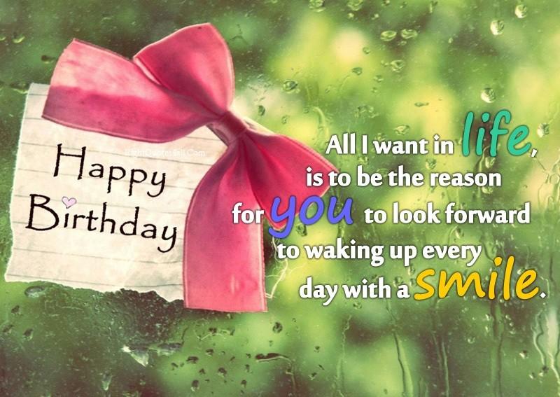 Heart Touching Birthday Wish for Girlfriend