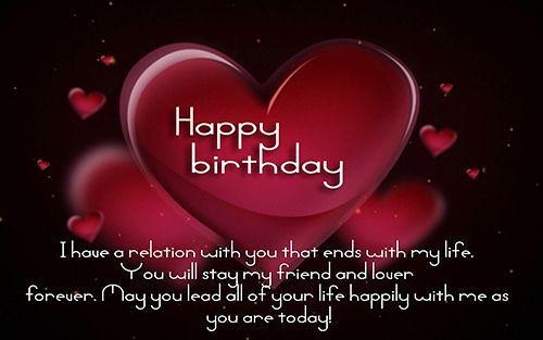 Heart Touching Birthday wish forHusband