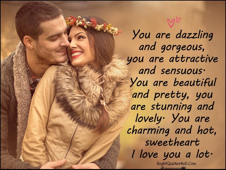 Msg for her love 320+ Romantic