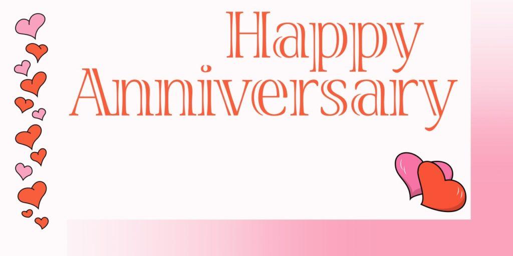 Custom Happy Anniversary