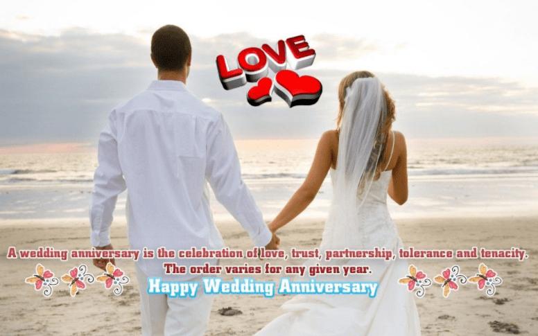 Happy anniversary love couples