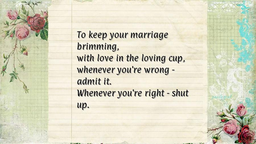 Hilarious Wedding Anniversary Quote