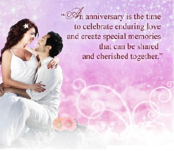 Romantic Marriage Anniversary