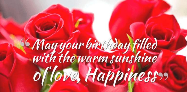 Happy Birthday For Fiancee