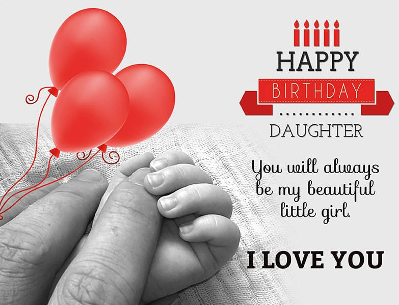 Happy Birthday Texts for Your Daughter
