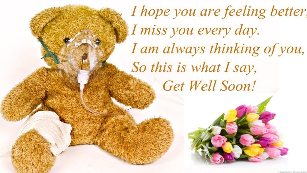 I Hope You Are Feeling Better