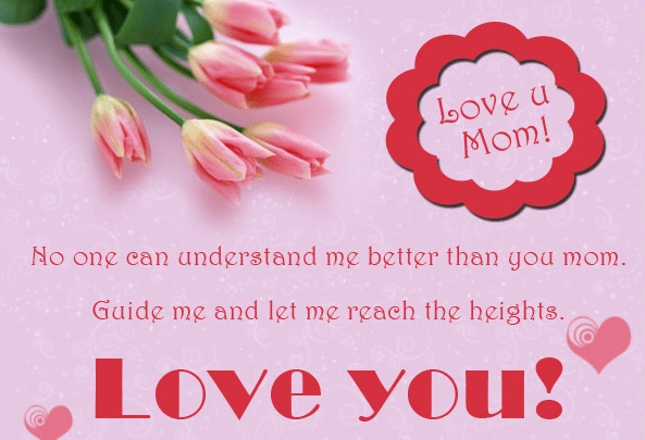 Touching Love Messages For Mom