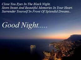 Good Night Quote To Boyfriend