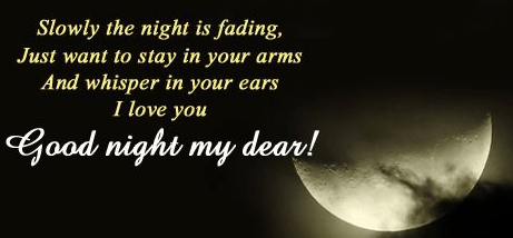 Nice Goodnight Love Quotes