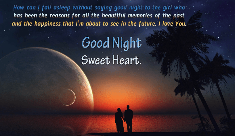 Cute & Romantic Good Night