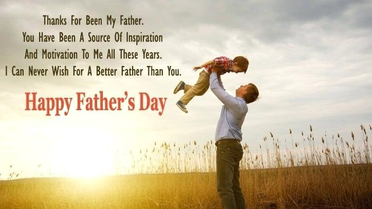 Fathers Day Quotes From Son Dad