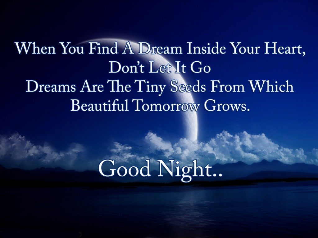 Good Night Love You Poem