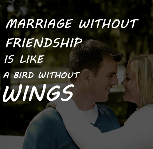 Marriage without friendship
