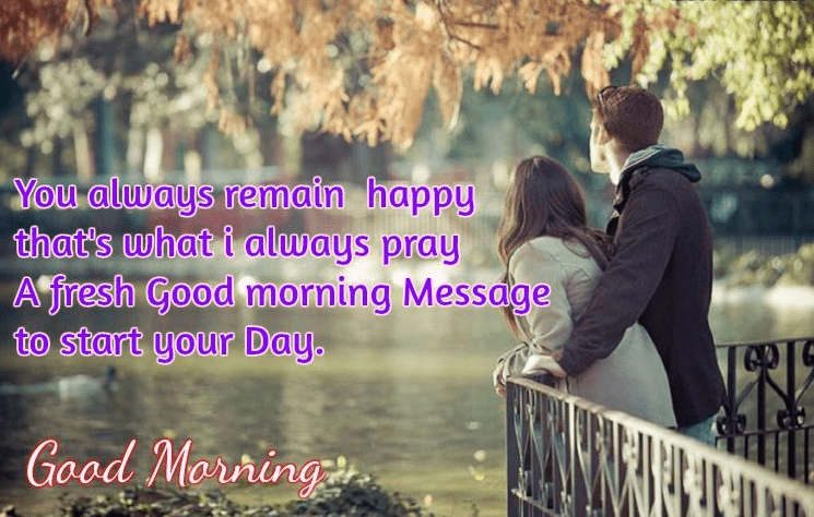 Romantic Good Morning Image