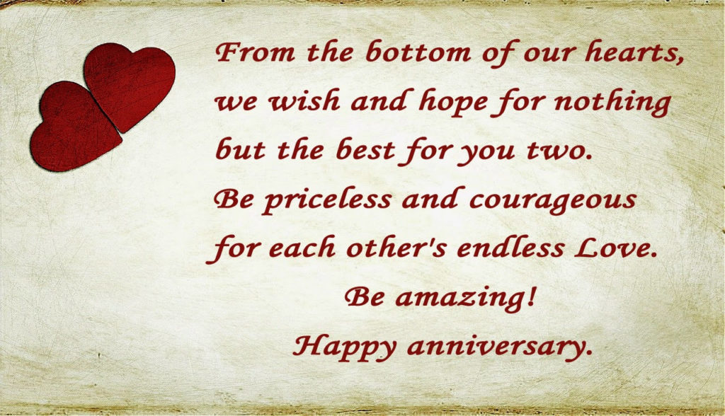 Happy Wedding Anniversary Message