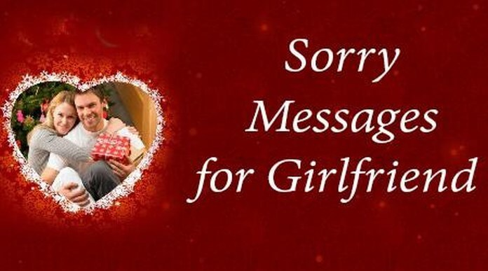 I am Sorry Messages for Girlfriend