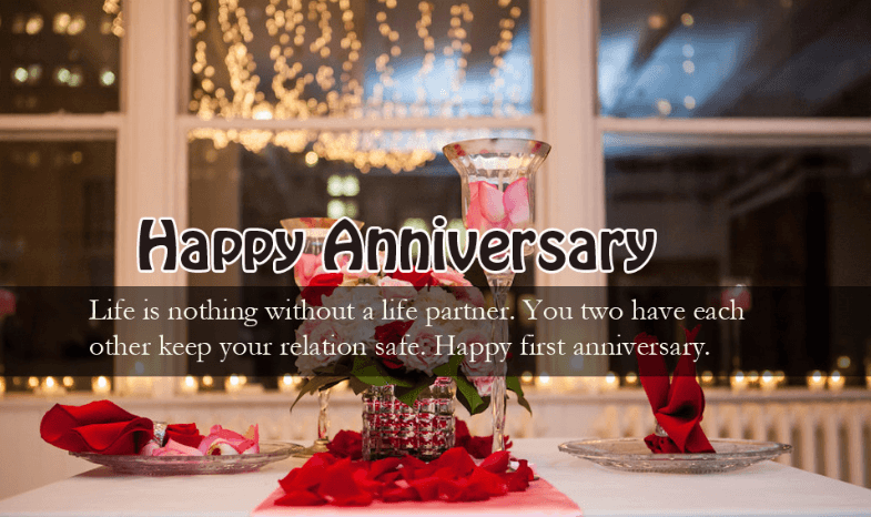 Wishes for wedding anniversary