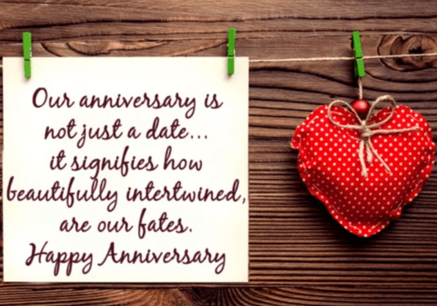 Anniversary Message to Wife