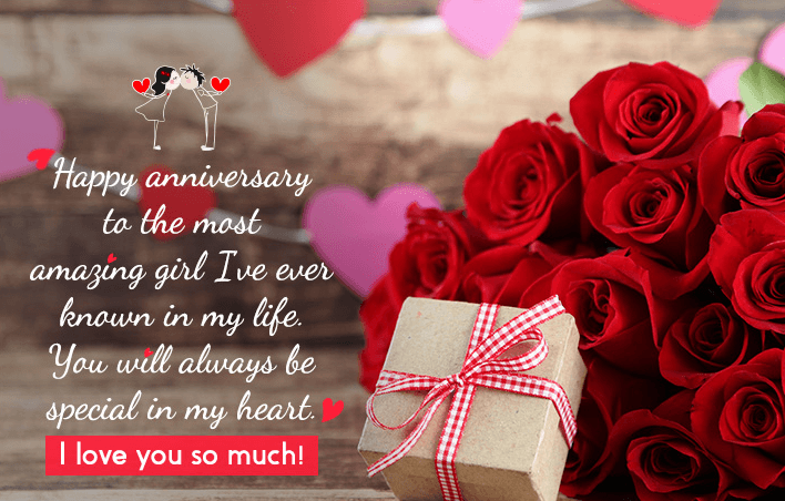 Happy Anniversary For Her