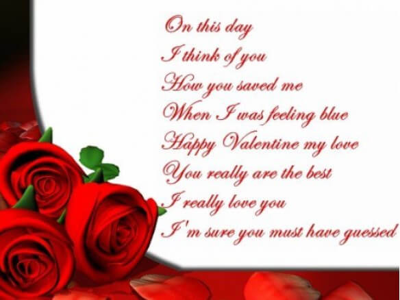 Happy Valentines Day Quotes, Wishes, Messages For Him/Her