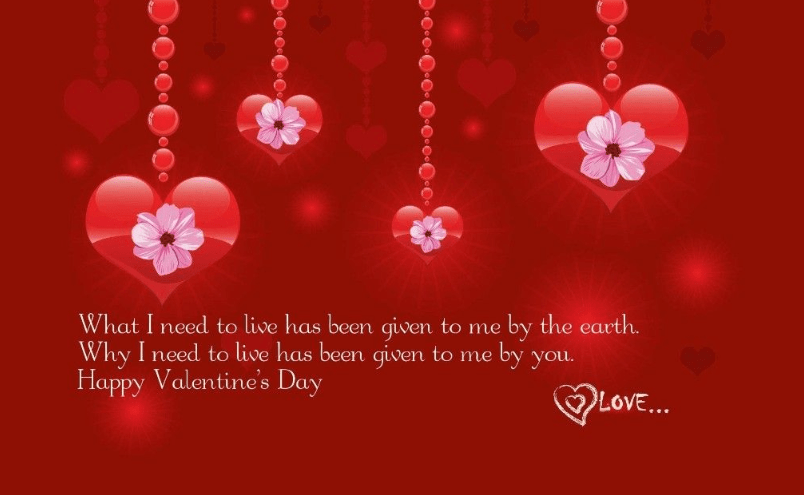 Happy valentine love quotes