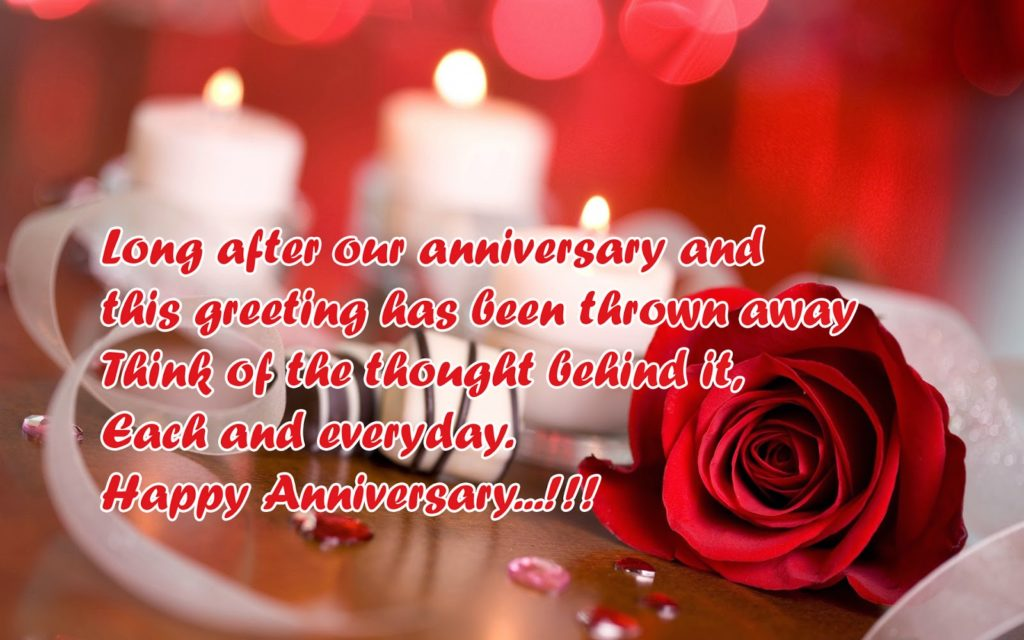Sayings For Anniversary