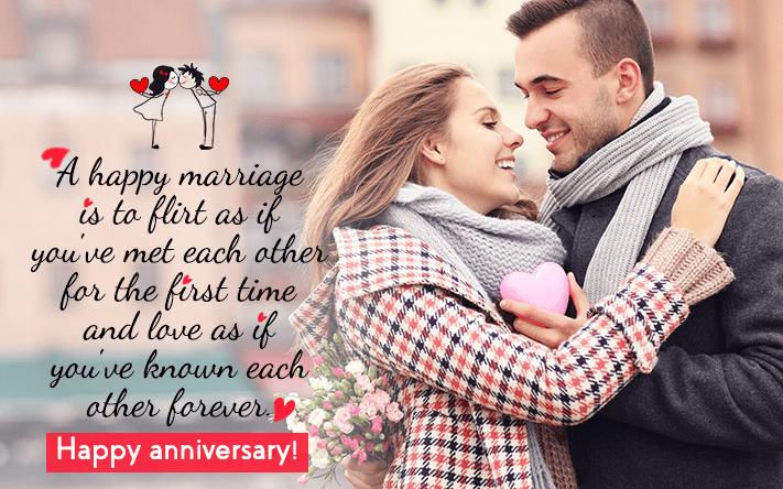 Wedding Anniversary Wish for Wife