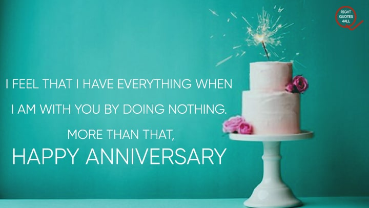 Anniversary Beautiful Cake wishes