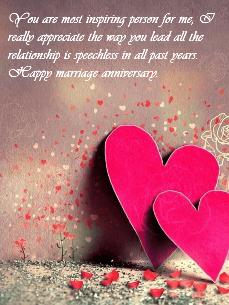 Anniversary Wishes With Love For Wife