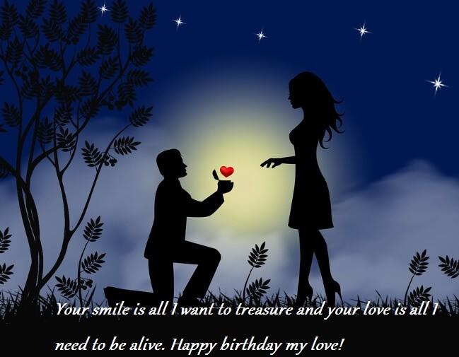 Birthday Heartfelt Wishes For Wife