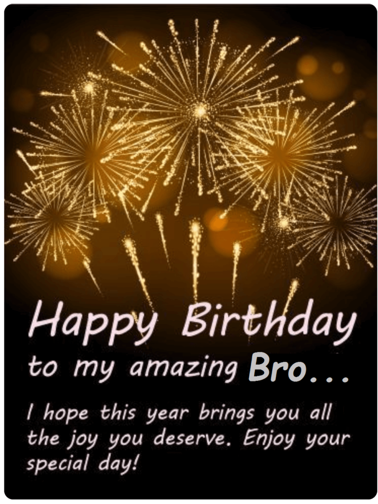 Birthday Wishes Images For Bro