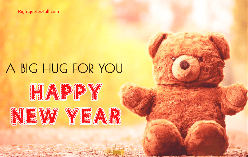 Cute Teddy Happy New Year Images