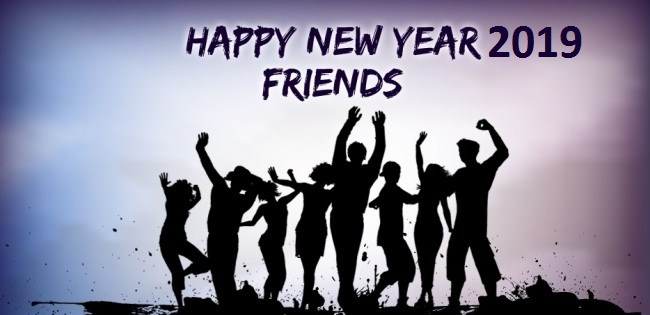 Download a Happy New Year Wishes for Friends 2019 Free