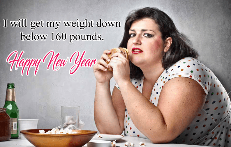 Funny New Year Resolution To Lose Weight