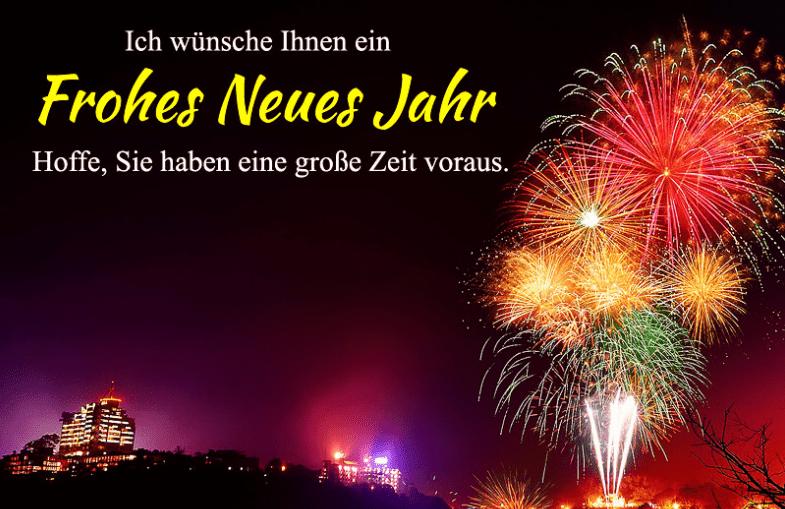 German New Year Greetings