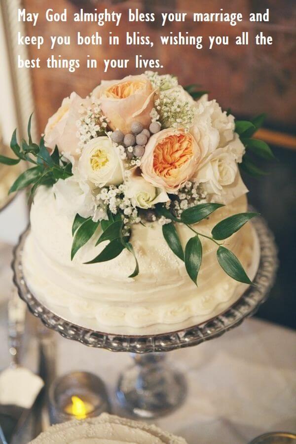 Happy Anniversary Cake Wishes Sayings