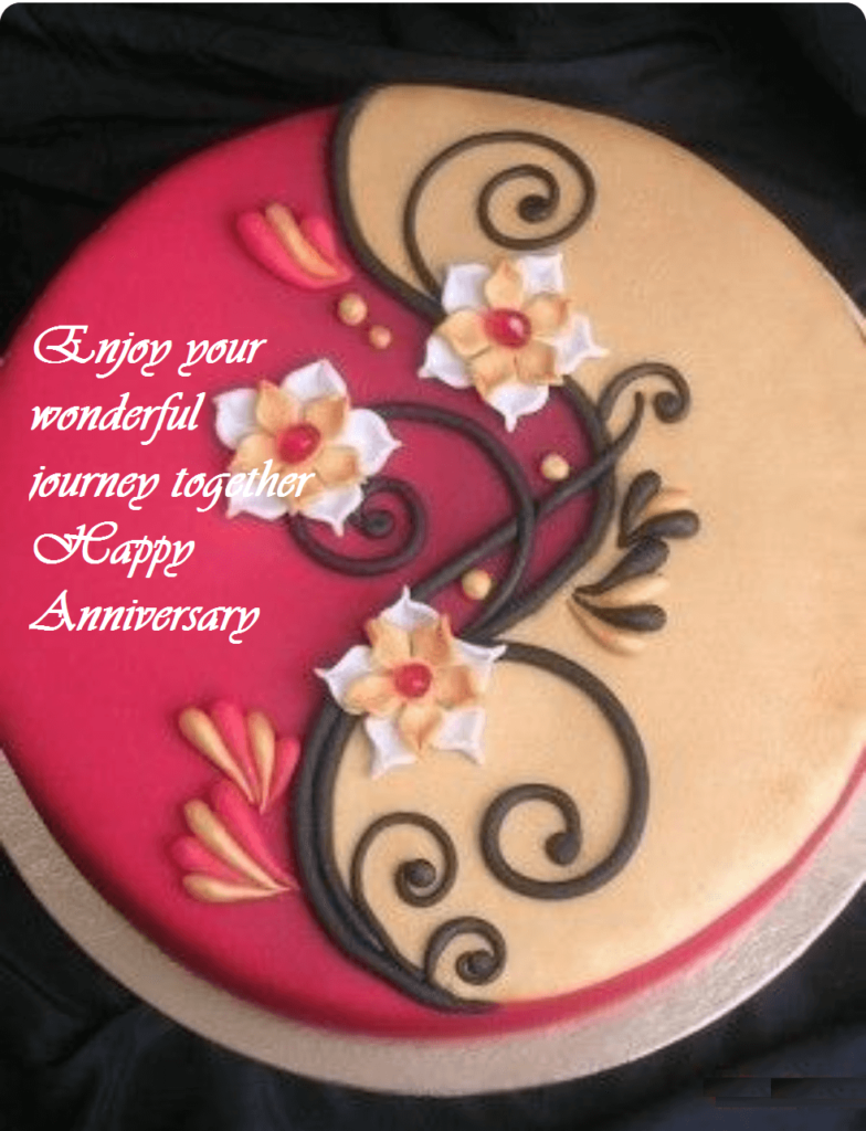 Happy Anniversary Cute Cake Wishes Images
