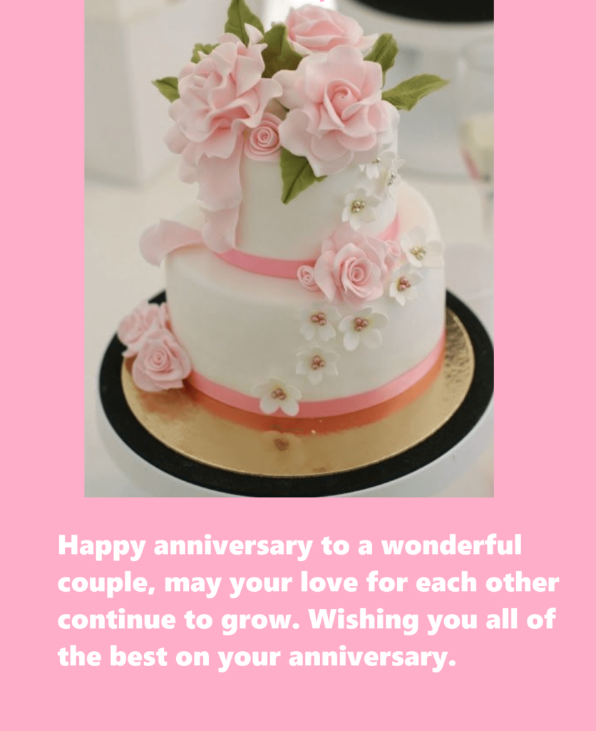 Happy Anniversary Wishes Cake Images